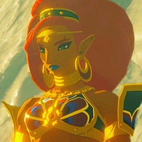 imagen de urbosa -chicas de the legend of zelda