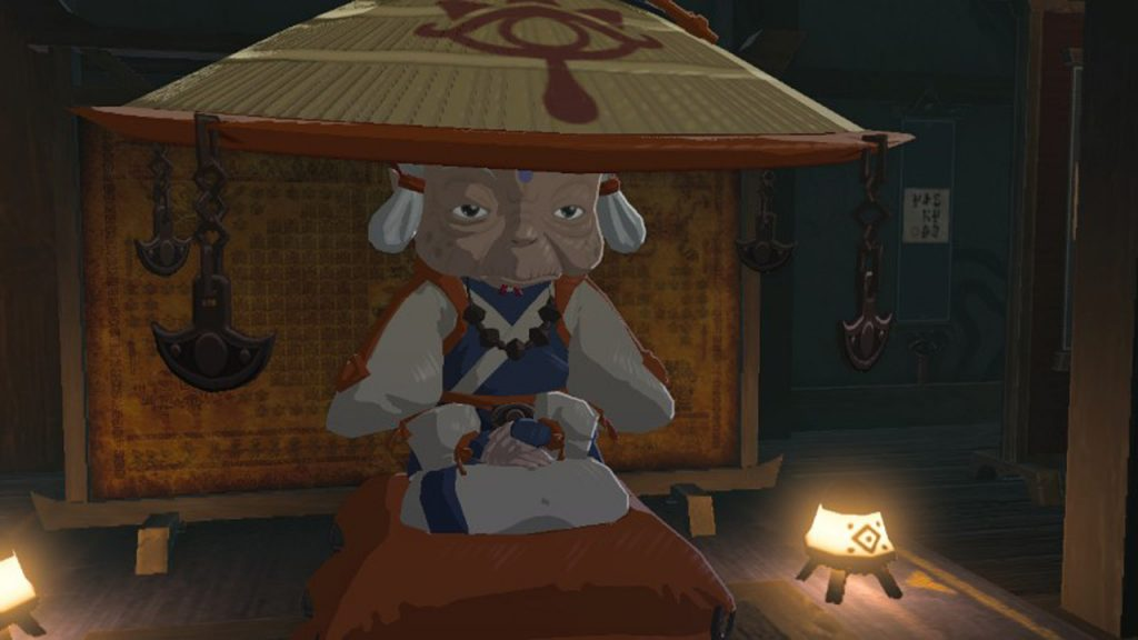 Impa en Zelda Breath Of The Wild - chicas de the legend of zelda