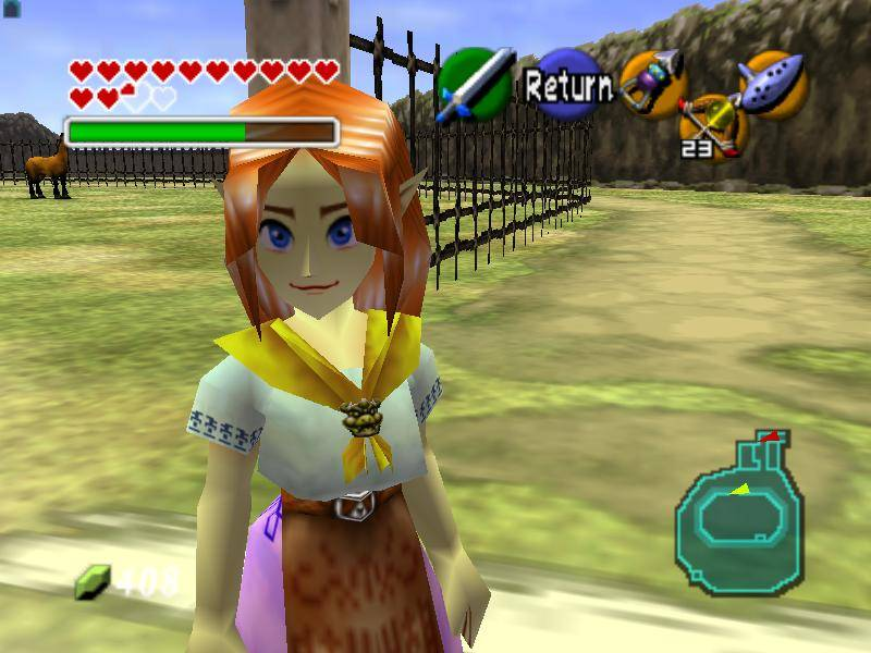 imágenes de Malon Ocarina of Time - chicas de the legend of zelda