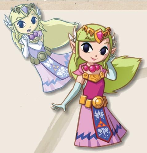 Zelda de Phantom Hourglass