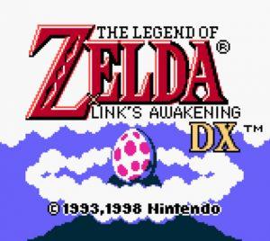 Carátula de The Legend Of Zelda Link's Awakening - Juegos de Zelda para consolas portátiles