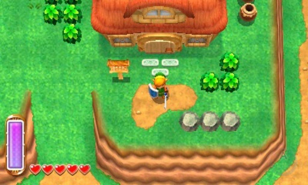 Link en A Link Between Worlds - Juegos de Zelda para consolas portátiles