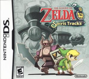 carátula de The Legend Of Zelda Spirit Tracks - Juegos de Zelda para consolas portátiles