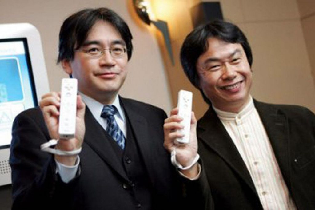 Satoru Iwata Nintendo Wii