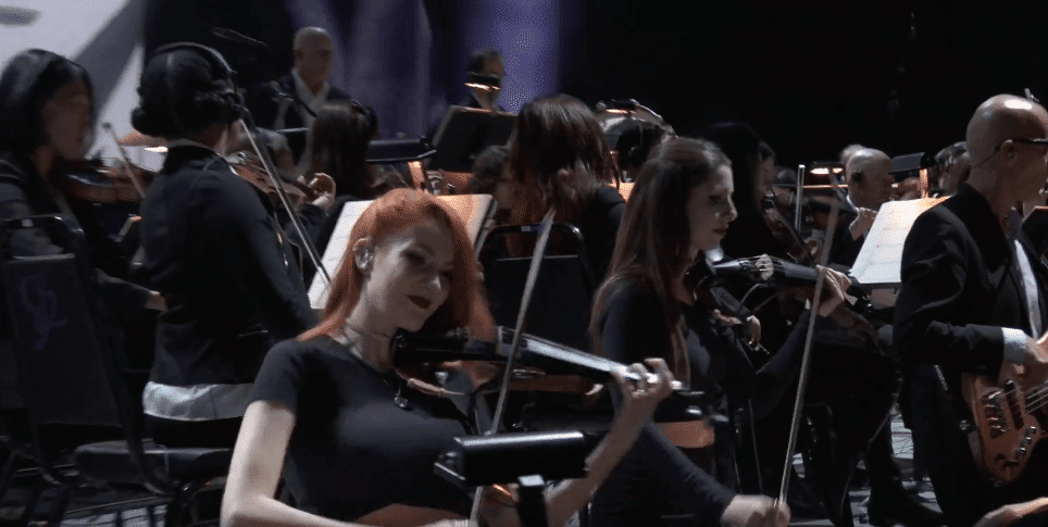 The Game Awards violinist