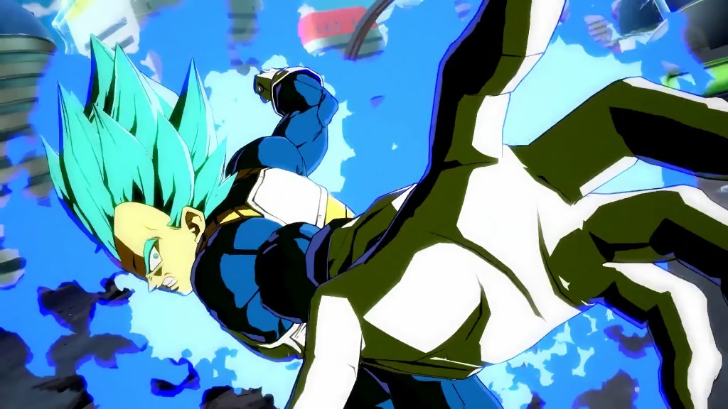 dragon ball fighter z vegeta