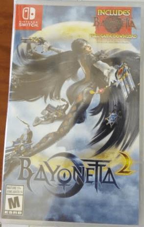 Bayonetta 2 Switch con código de descarga