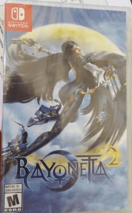 Bayonetta 2 Switch sin código de descarga