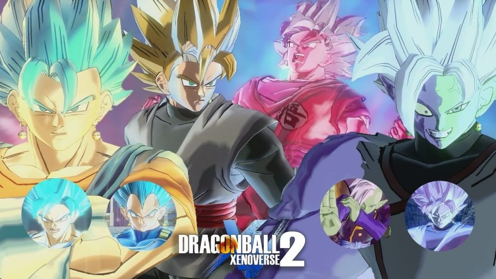 personajes de dragon ball xenoverse 2