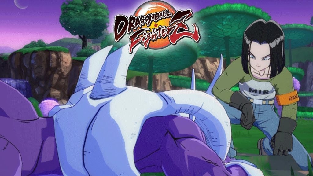 Androide 17 y  Cooler  dragon ball fighterz dlc 4