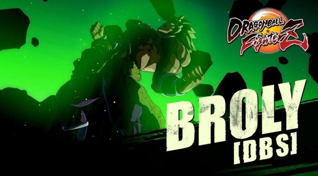 DRABON BALL FIGHTERZ DLC BROLY DBS