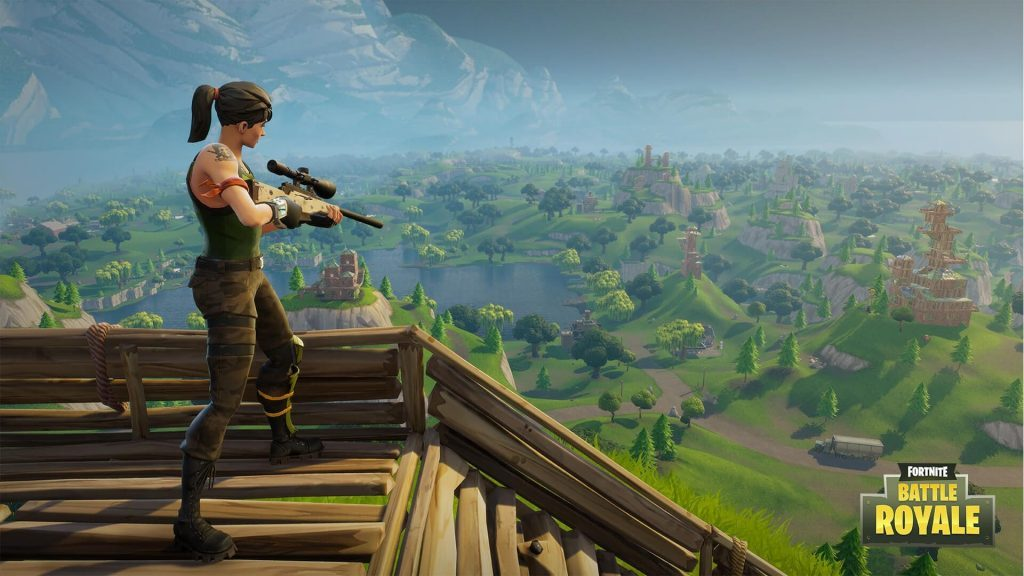 Fornite Battle Royale Games Top