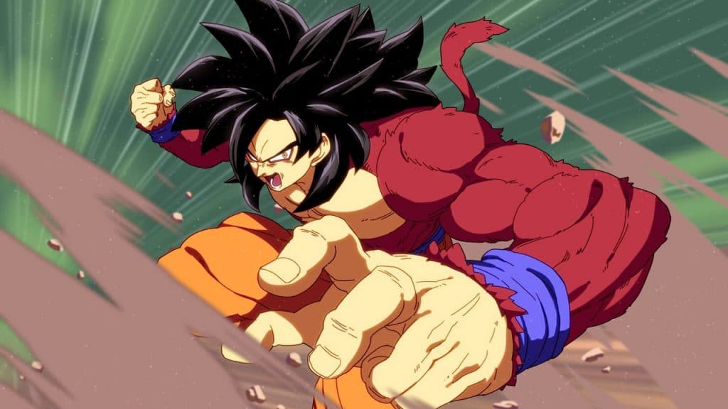 Gokú SS4 Dragon Ball FighterZ