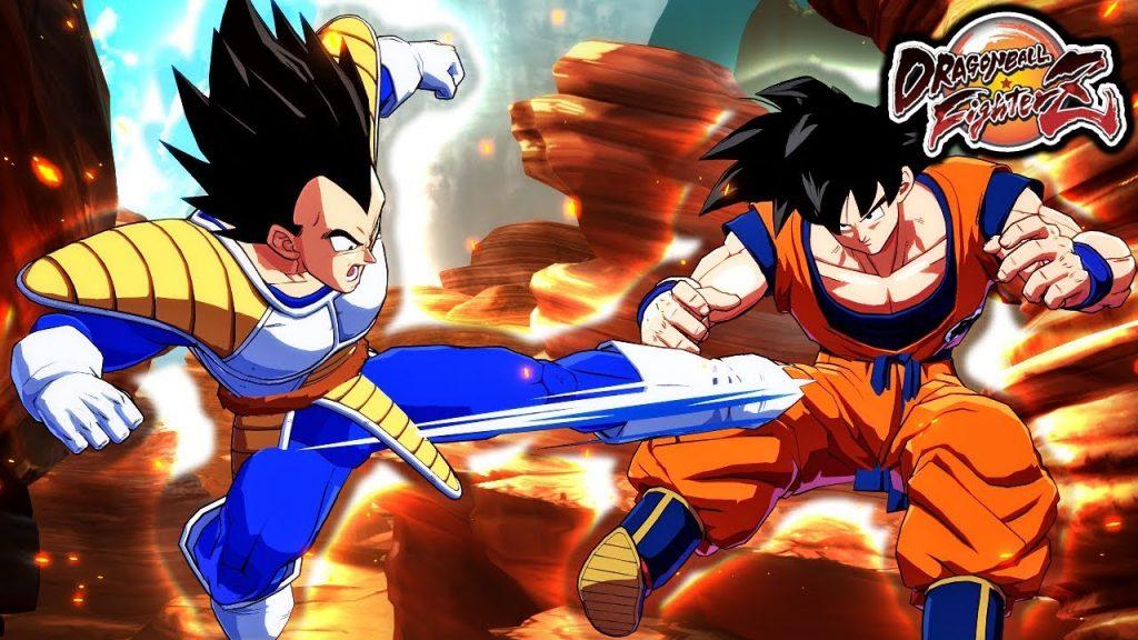 Goku Base y Vegeta Base  dragon ball fighterz dlc 3