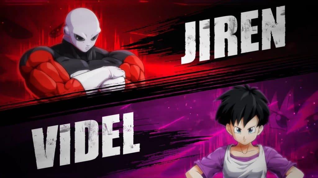 Jiren y Viden Dragon Ball Fighterz