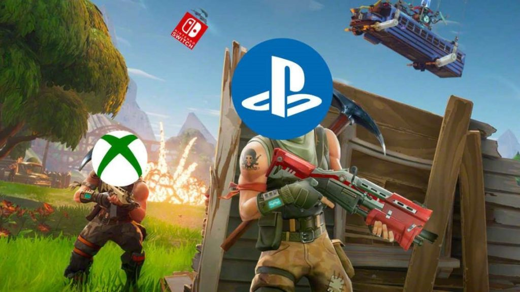 Crossplay Fornite PS4