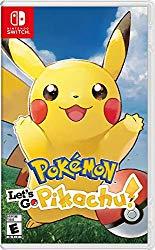 Pokemon Let's Go Nintendo Switch