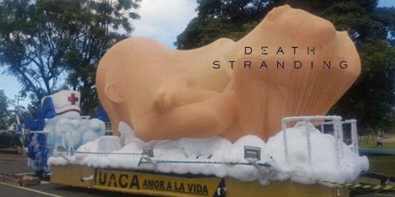Hideo Kojima Carroza UACA Death Stranding Costa Rica
