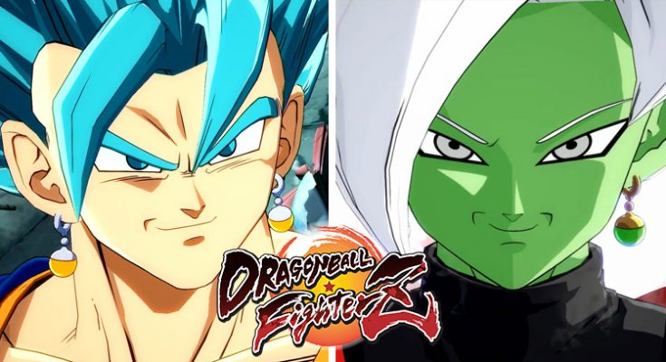 Vegeto y Zamasu Dragon Ball Fighterz