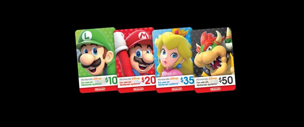Dónde Comprar Nintendo eShop Cards para Nintendo Switch