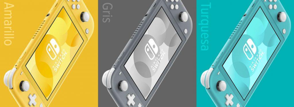 Cores Nintendo Switch Lite