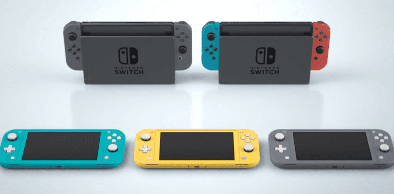 Comparativa Nintendo Switch Lite vs Nintendo Switch original