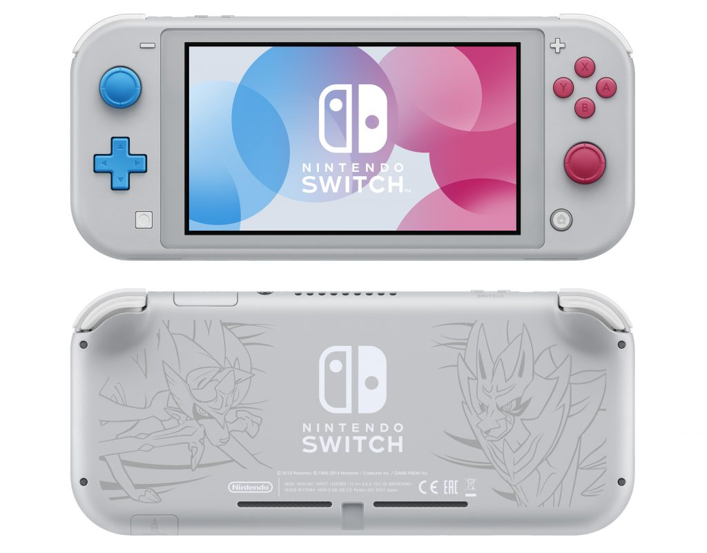 Nintendo Switch Lite Pokemon Sword and Shield Edition