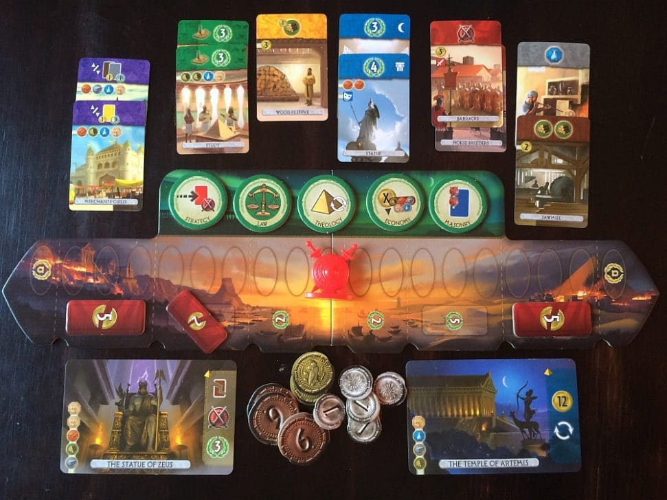 HOW DO YOU PLAY 7 WONDERS DUEL