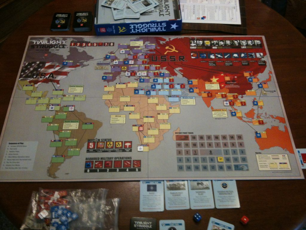 TABLE GAMES FOR TWO TWILIGHT STRUGGLE
