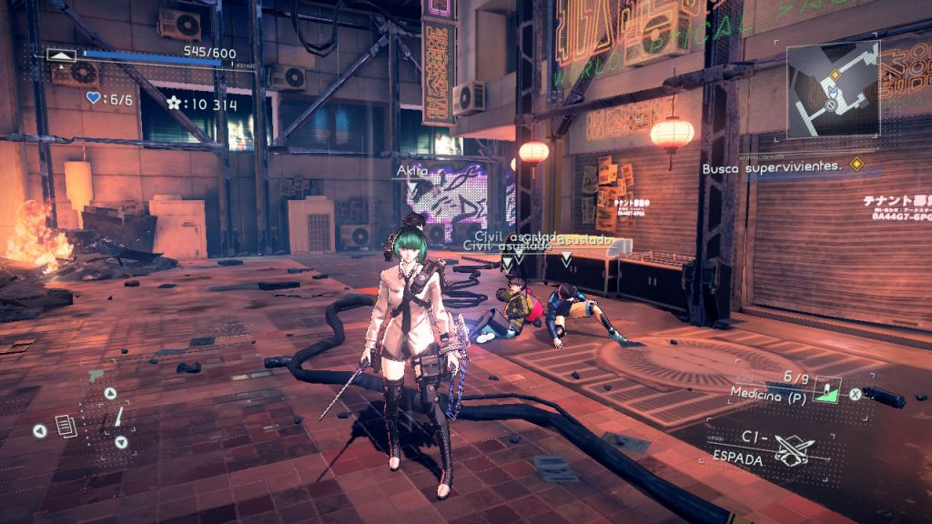 astral chain nintendi switch fase de investigacion
