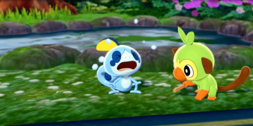 Pokemon Espada - La aventura comienza - eligiendo Pokemon