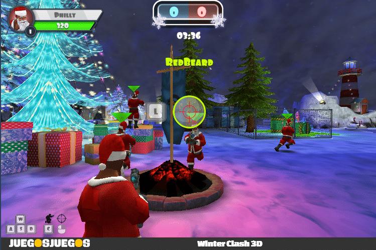 Winter Clash 3D juegos para es