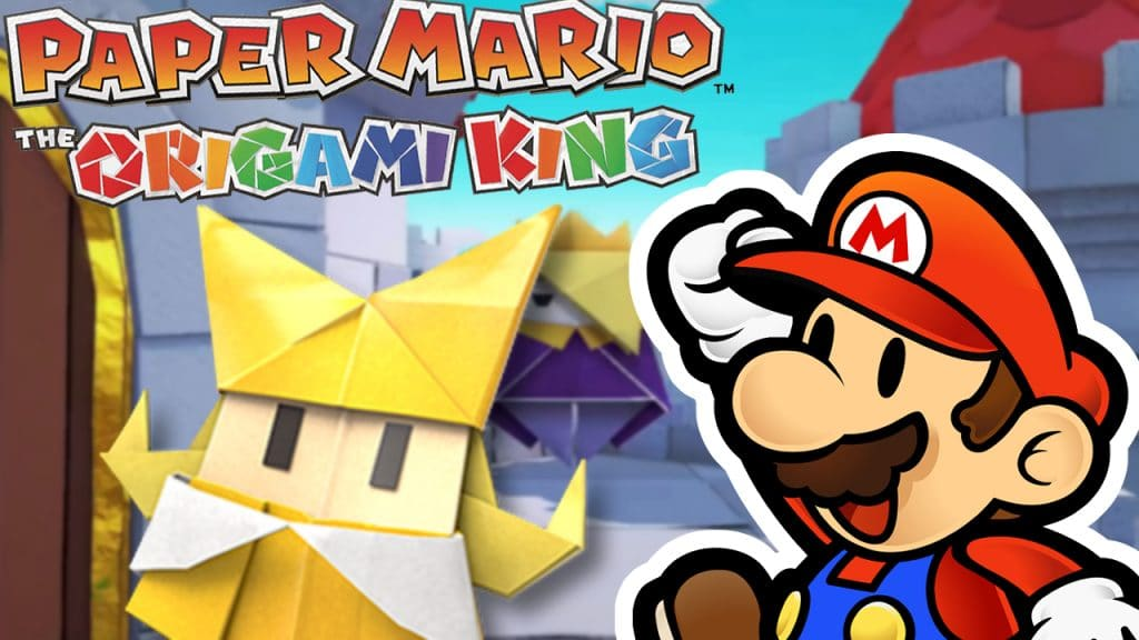 ANALISIS PAPER MARIO THE ORIGAMI KING