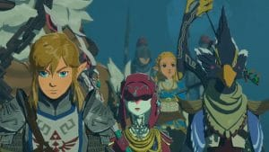 Tarjeta Nintendo Switch para Hyrule Warriors Age of Calamity