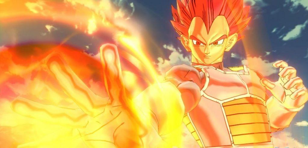Super Saiyan God Vegeta Ultra Pack 1