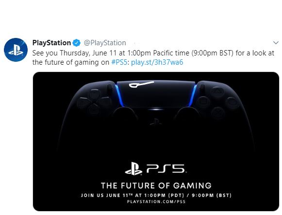 twitter oficial playstation 5 nueva fecha
